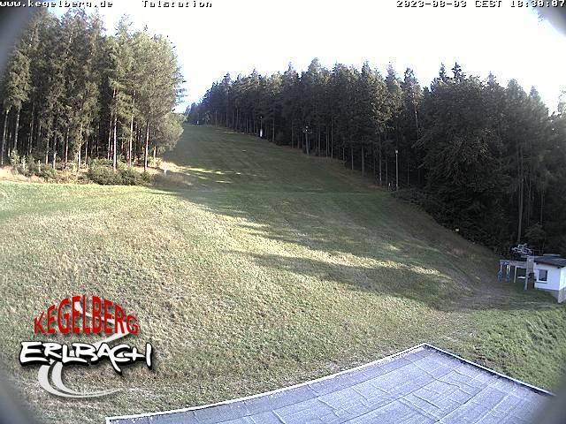 Webcam Skigebiet Erlbach Vogtland